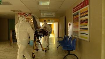 Ponad 1300 nowych przypadków koronawirusa. 124 osoby pod respiratorami