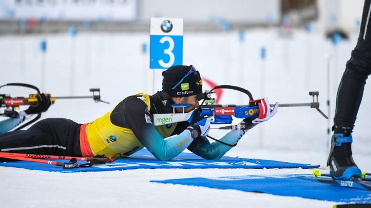 PŚ w biathlonie: Fourcade wygrał na pożegnanie. Boe z Kryształową Kulą