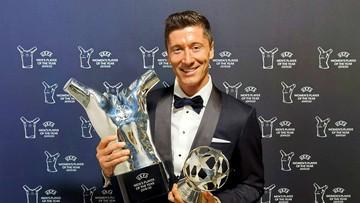 Robert Lewandowski Piłkarzem Roku UEFA