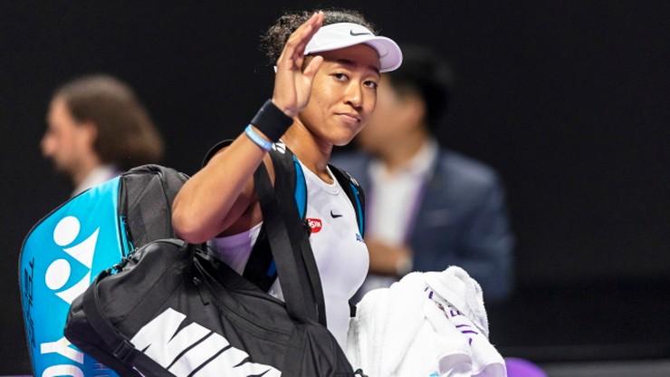 WTA Finals: Kontuzjowana Osaka wycofała się z turnieju