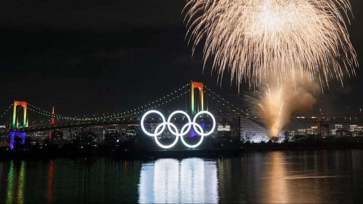 Tokio 2020: Główny plac wioski olimpijskiej wyłożony 40 tysiącami belek