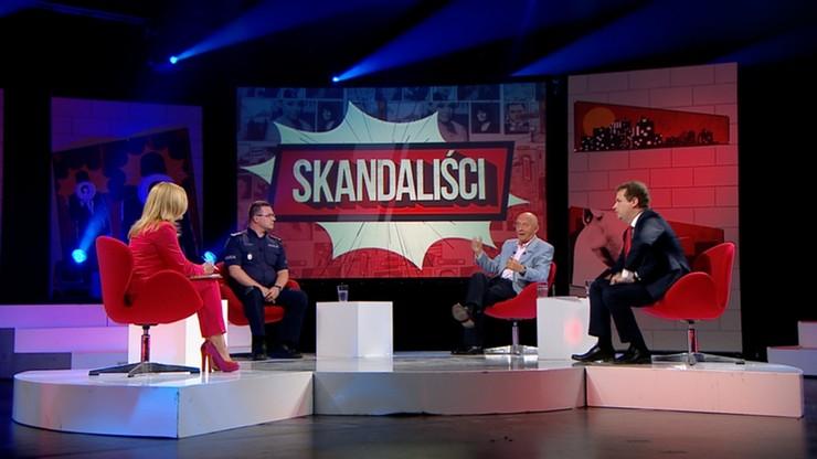 """Policja kontra ksiądz, przedsiębiorcy, pielgrzymi. """"Skandaliści"""" w Polsat News"""