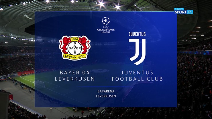 Bayer Leverkusen - Juventus Turyn 0:2. Skrót meczu