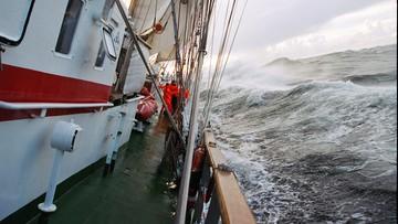 Ostrzeżenie przed sztormem na Bałtyku. Lekkie konstrukcje zagrożone
