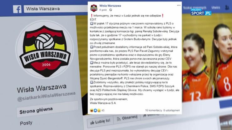Zagumny na temat sytuacji Wisły Warszawa