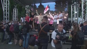 Szefowa sztabu Cichanouskiej zatrzymana. Kolejne zatrzymanie przed wyborami na Białorusi