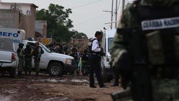 Krwawa wojna gangów narkotykowych w Meksyku. 24 ofiary śmiertelne