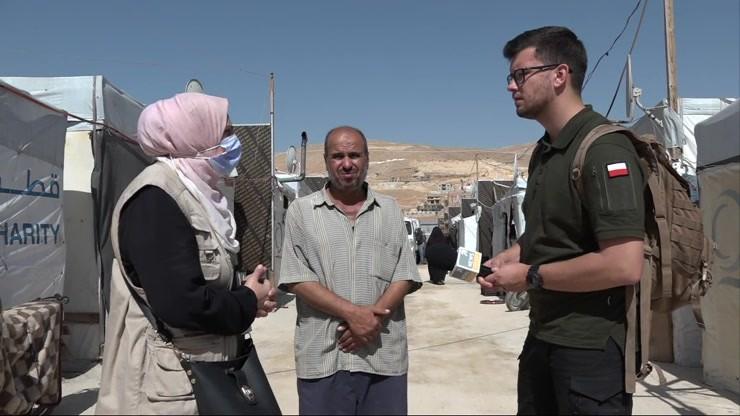 Miasto łez. Reporter Polsat News w libańskim obozie dla uchodźców