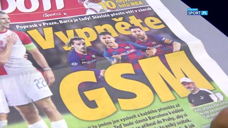 Liga Mistrzów: Przegląd czeskiej prasy przed meczem Slavia - FC Barcelona