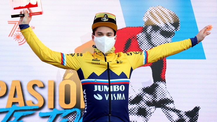Vuelta a Espana: Roglic wygrał etap, Carapaz obronił koszulkę lidera