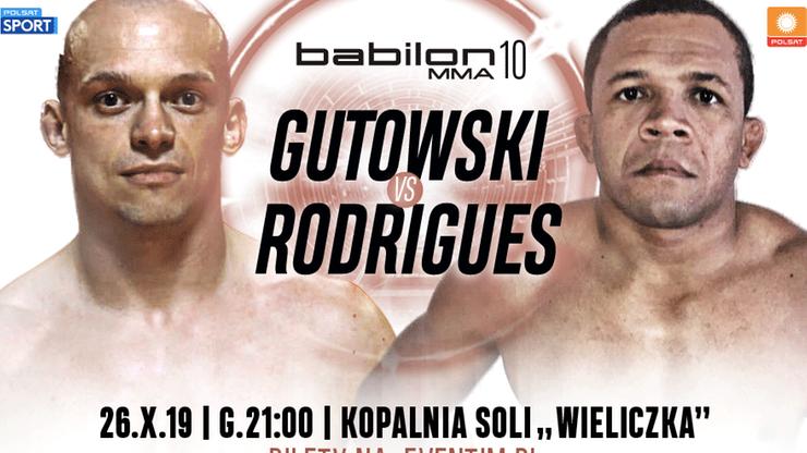 Babilon MMA 10: Doświadczony Brazylijczyk rywalem Gutowskiego