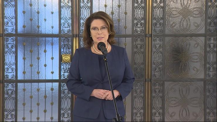 Kidawa-Błońska zrezygnowała z udziału w wyborach