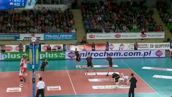 Delecta Bydgoszcz - Asseco Resovia Rzeszów skrót set 5, PlusLiga