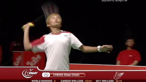 Shao Chieh Cheng (TPE) -  Juliane Schenk (GER)