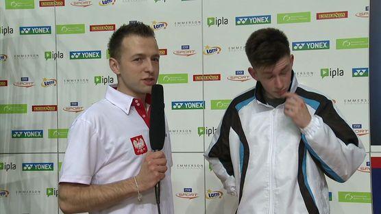 Yonex Polish Open 2013 - wywiad z Tobym Penty