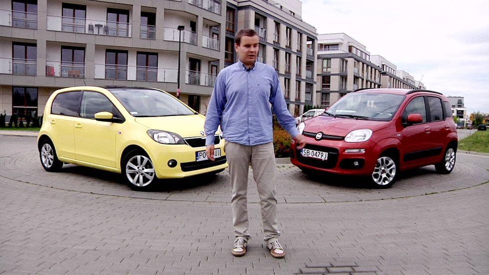 Skoda Citigo vs. Fiat Panda - miejski pojedynek