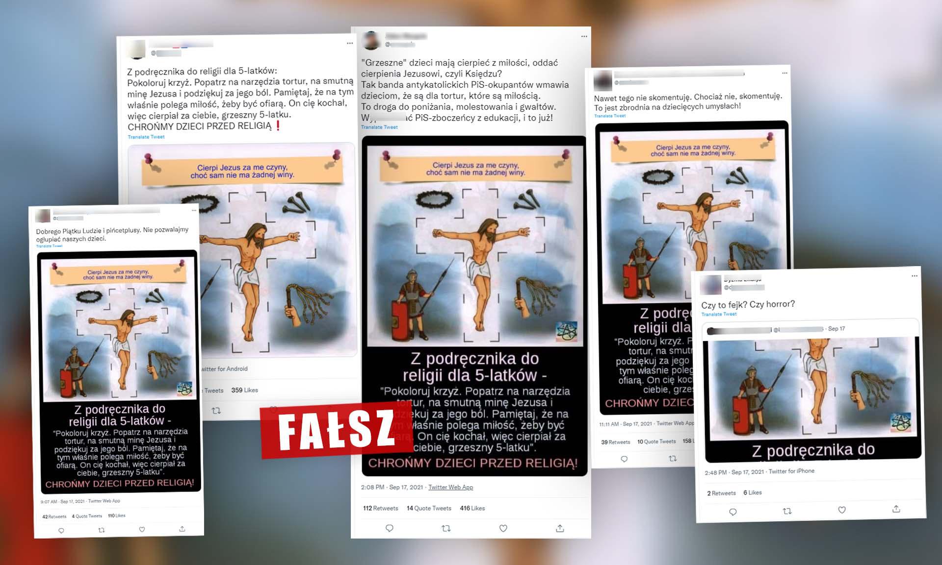 Fałszywy przekaz rozchodzi się w mediach społecznościowych
