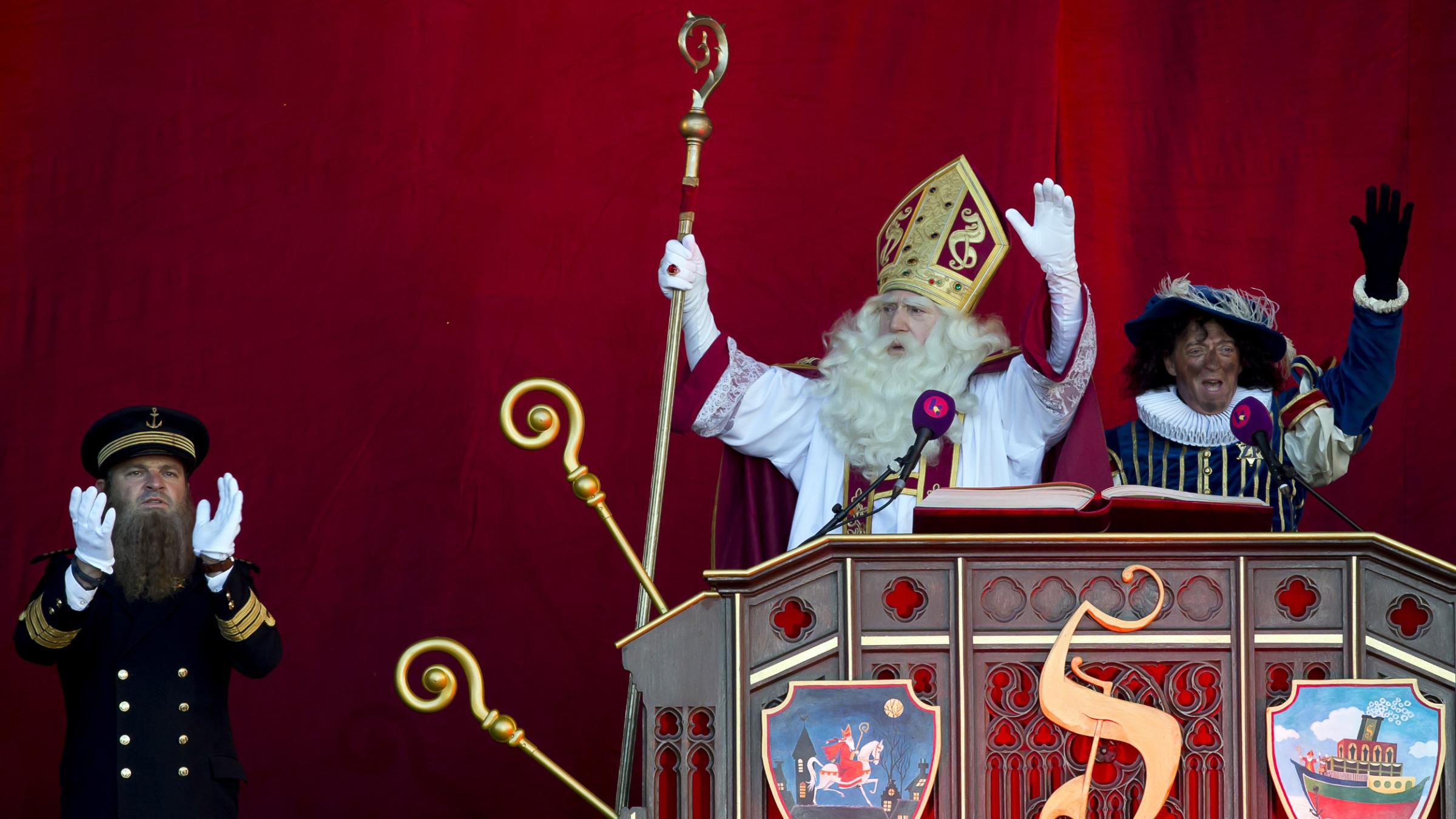Przybycie Sinterklaasa do Antwerpii w 2018 r.