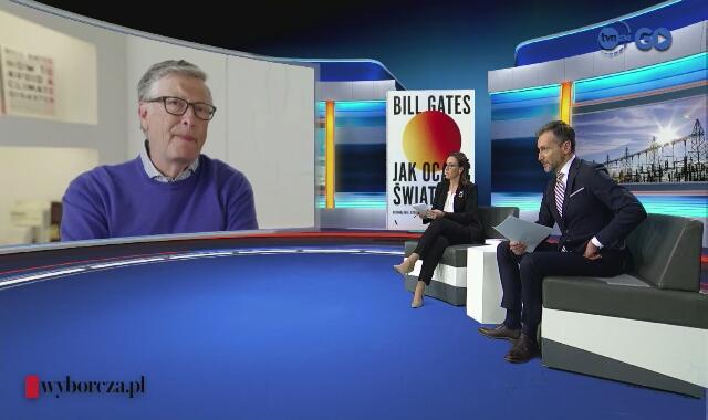 Bill Gates komentuje teorie spiskowe na swój temat