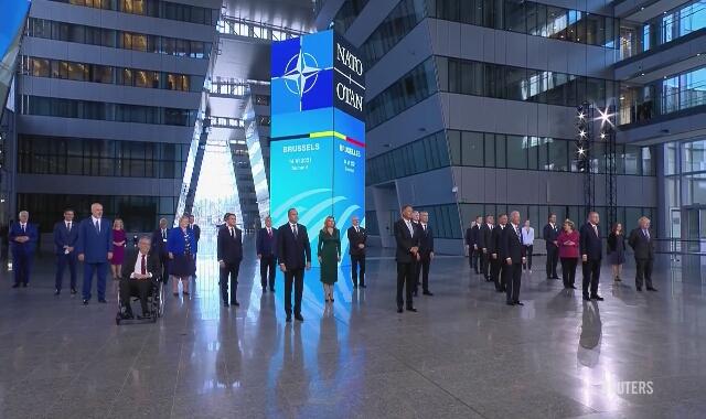 Wspólne zdjęcie przywódców państw NATO