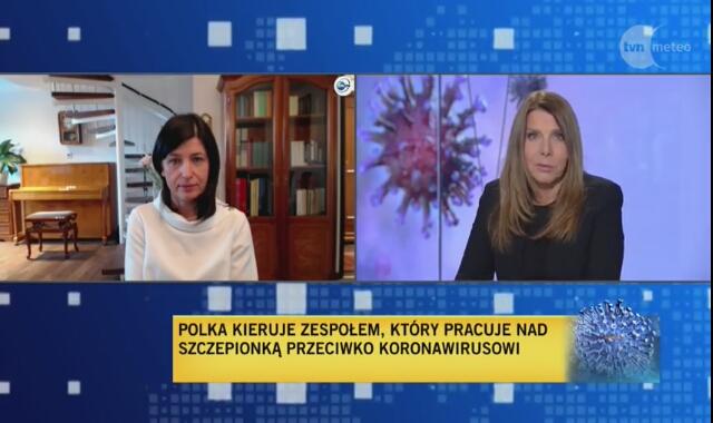 Dr Mariola Fotin-Mleczek o pracy nad szczepionką przeciw koronawirusowi