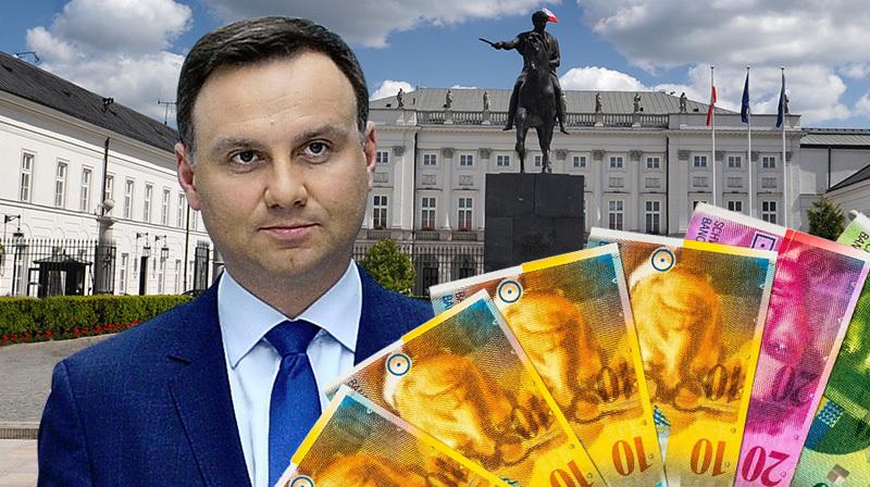07.11.2015 | Frankowicze rozczarowani Andrzejem Dudą. Prezydent nie przedstawił projektu ustawy zgodnie z obietnicą