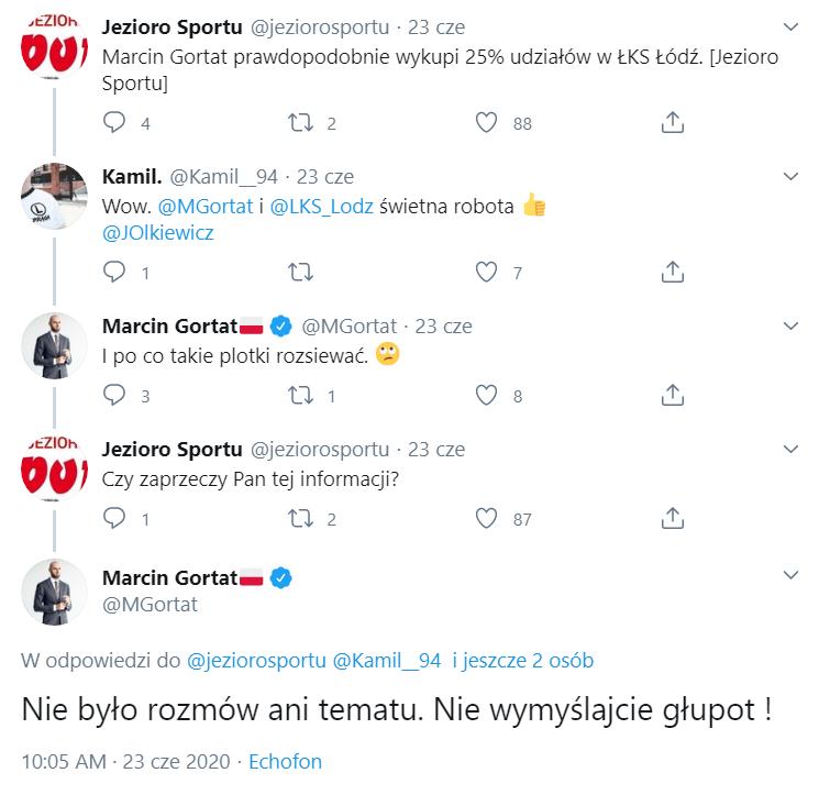 Marcin Gortat reaguje na informację na profilu Jezioro Sportu