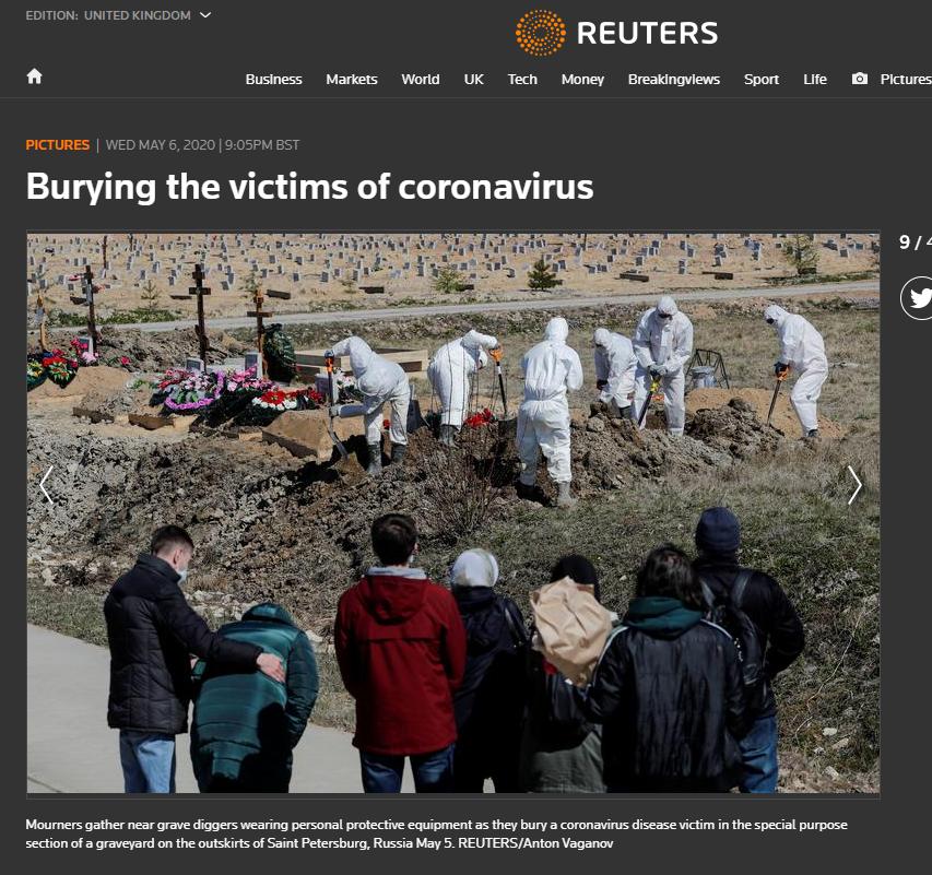 Zdjęcie zamieszczone na stronie agencji Reuters