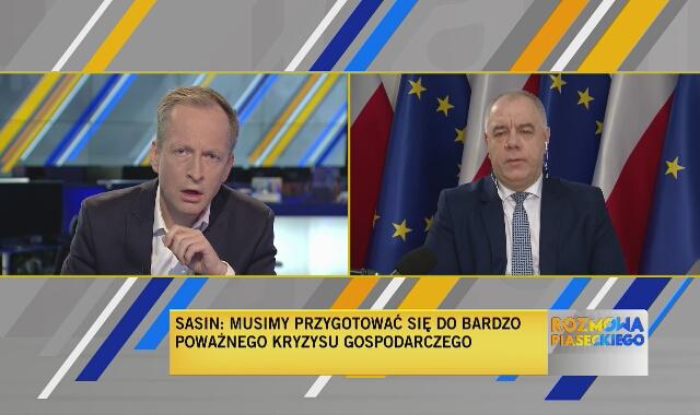 Wicepremier Sasin o sytuacji spółek Skarbu Państwa