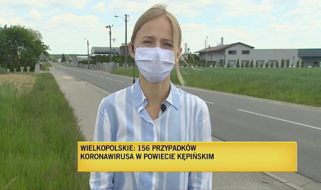 20 maja: 156 osób zakażonych w powiecie kępińskim. Ognisko w fabryce mebli