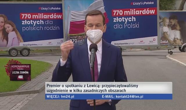 Premier Mateusz Morawiecki o ratyfikacji Funduszu odbudowy