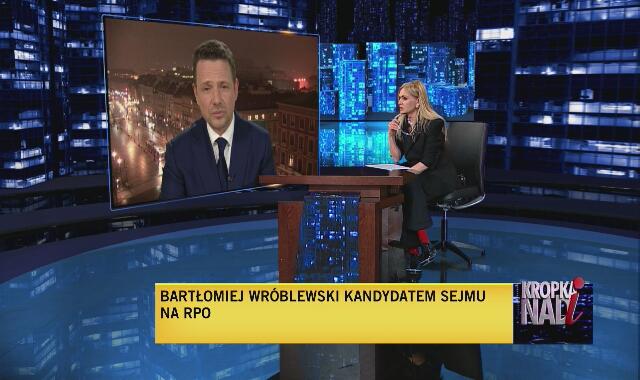 Rafał Trzaskowski w Kropce nad i