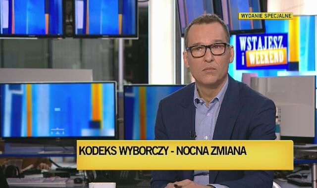Rozmowa z Mikołajem Małeckim o nocnych zmianach w Kodeksie wyborczym