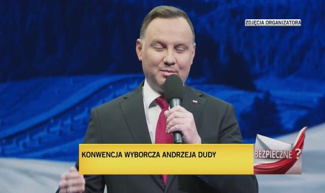 Konwencja programowa Andrzeja Dudy, 1 maja 2020