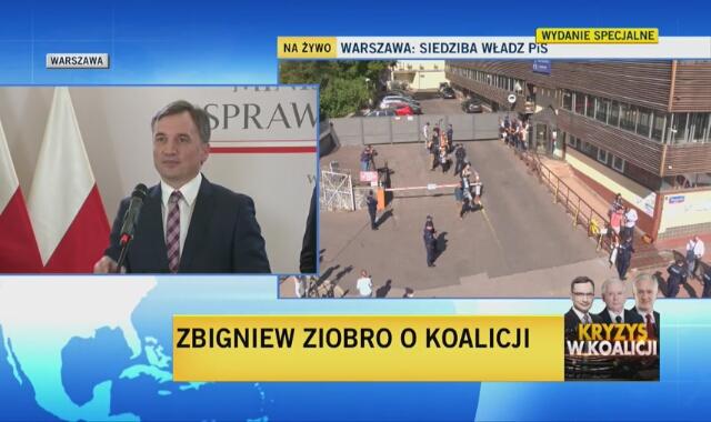Zbigniew Ziobro o sytuacji w Zjednoczonej Prawicy