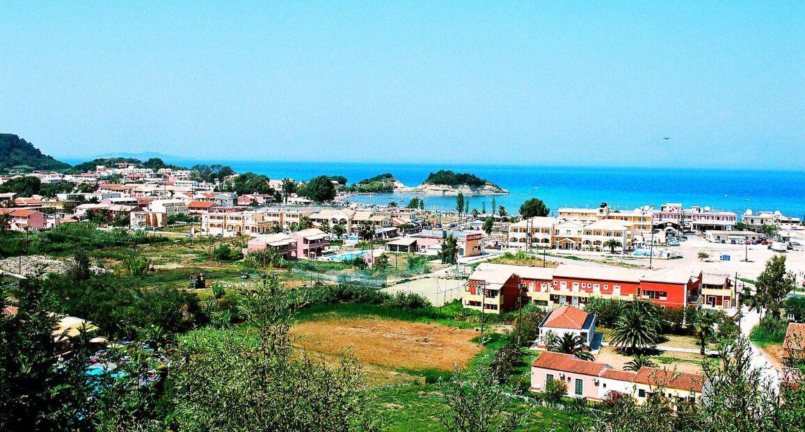 Panorama Sidari - Korfu - Grecja