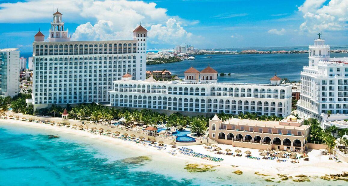 Riu cancun cancun meksyk opis hotelu opinie zdj cia for Alberca las americas