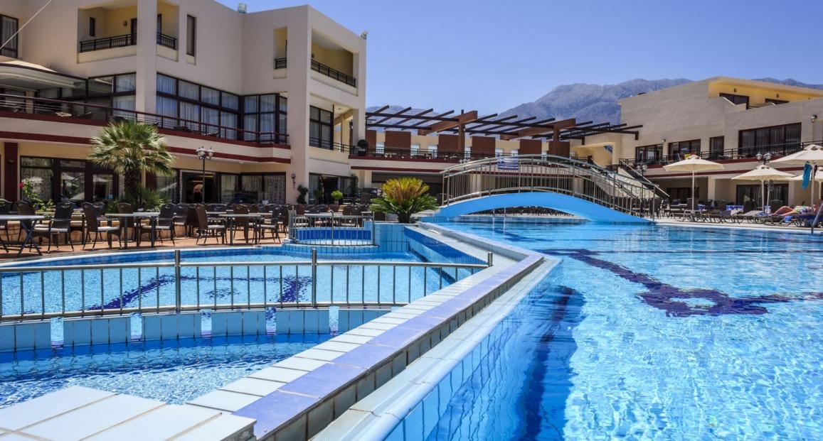 Hotel Vantaris Palace Kreta Grecja Opis Hotelu Opinie