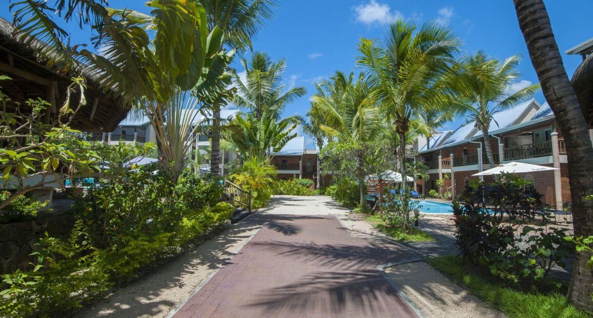 Le Palmiste Troux Aux Biches Mauritius Opis Hotelu